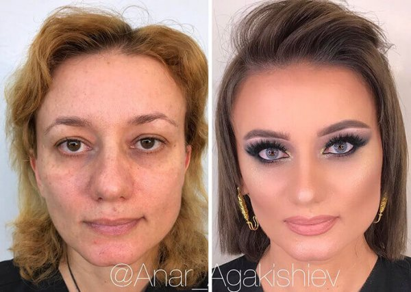 Best Makeup Transformation 15 Images