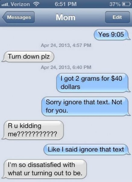 Messages Lovethispic Funniest Texts Ever Sent Between Parents And Children 21 Images